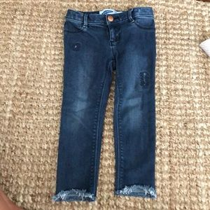 Old navy toddler ballerina jeans